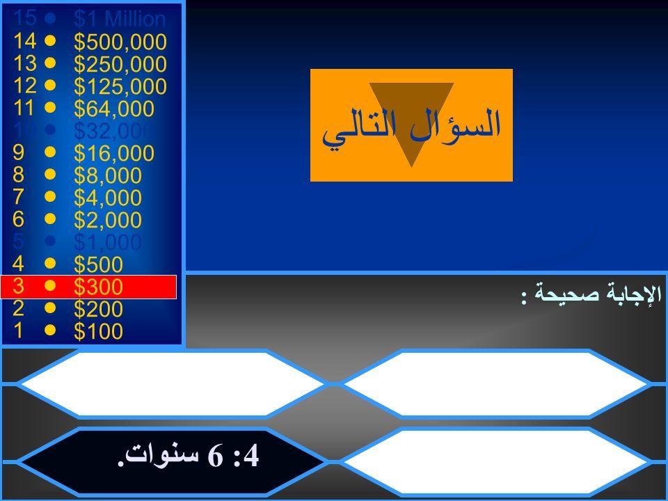 أما الآن فنكون مع مسابقة مثيرة بعنوان 1 Million 500000