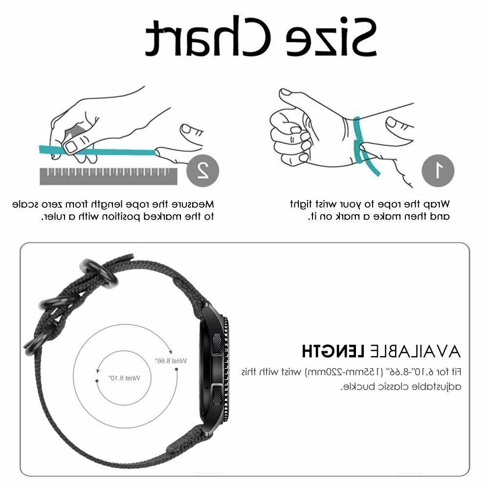 For Samsung Gear S3 Classic / Frontier Smart