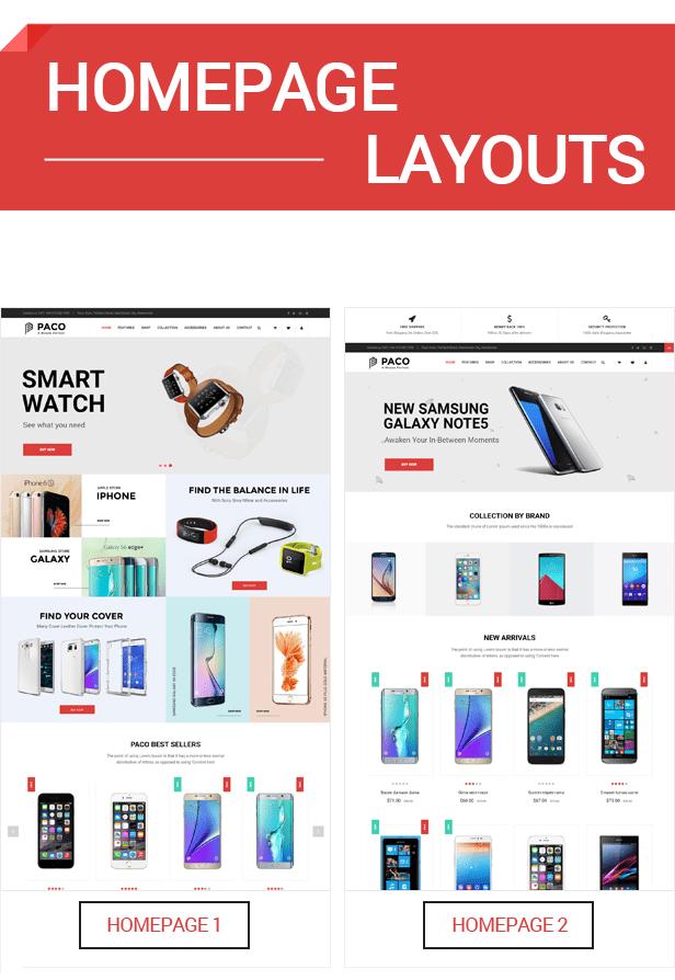 SM Paco - Homepage