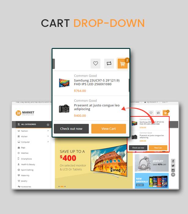 Market - Multipurpose Stencil Responsive BigCommerce Theme