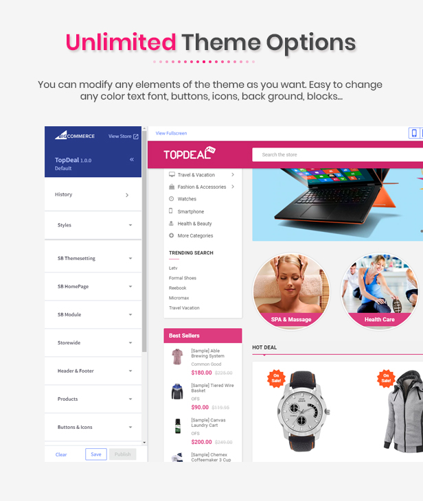 topdeal - Multipurpose Stencil Responsive BigCommerce Theme