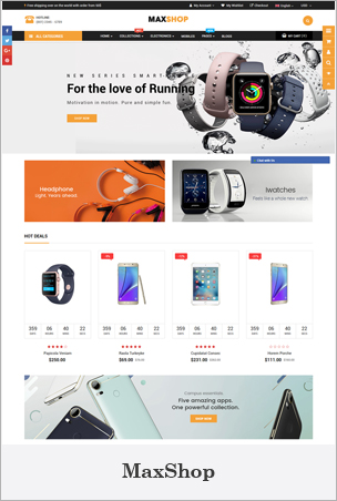 MaxShop - Advanced Multipurpose Shopify Sections Theme