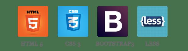 SM Agood - HTML5, CSS3, BOOTSTRAP & LESS