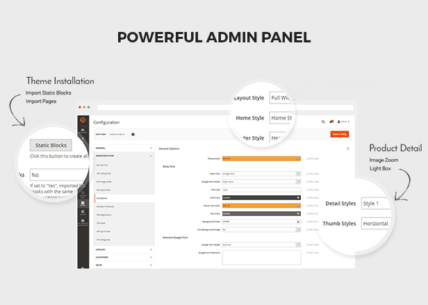 Agood - admin panel