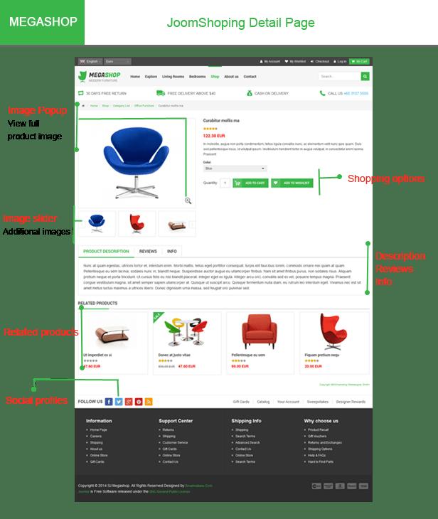 """Megashop- JoomShopping detail page """"title ="""" Megashop- JoomShopping details page"""