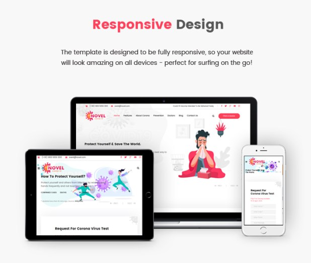 Sj Novel - Responsive Medical & Healthcare Joomla Template