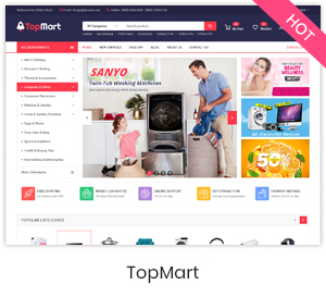 Market - Multistore Responsive Magento Theme with Mobile-Specific Layout (24 HomePages) - 10