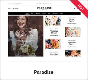 Paradise - Creative WordPress Theme