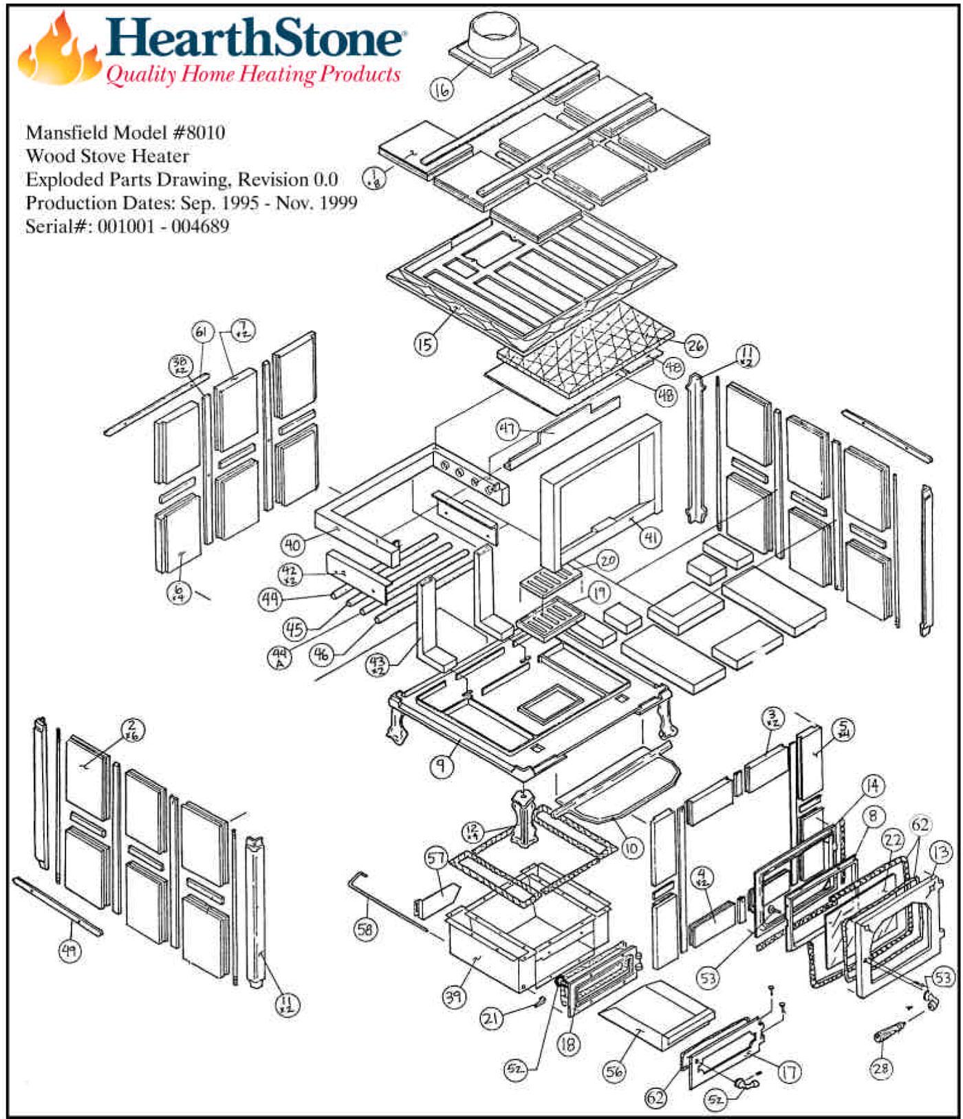 Mansfield Model Parts