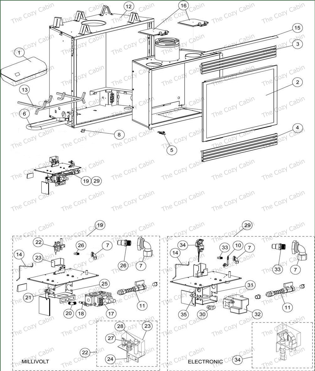 hight resolution of dt 500cmn 65l05 dt 500cmp 65l06 dt 500cen 65l07 775634mrevncdt500 the cozy cabin lennox hearth parts store