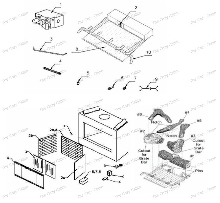 BV5142 (BV5142) The Cozy Cabin Stove & Fireplace Parts Store