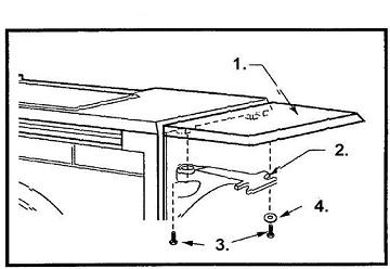 Dutchwest Warming Shelf Parts (2460-2461-2462) The Cozy