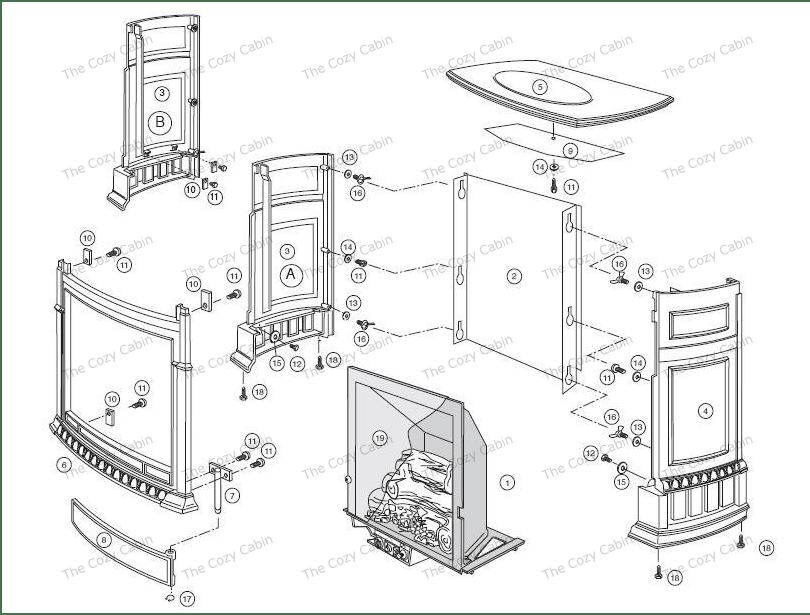 Pinnacle VF25 Shell Model #'s 2660, 2662, 2664, 2699, 2701