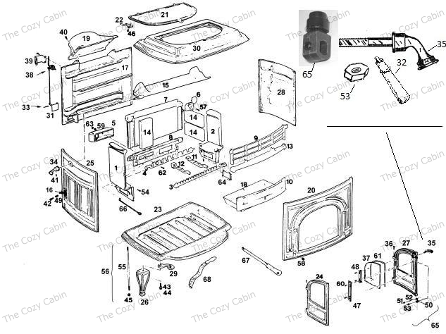 Coal Stove: Coal Stove Replacement Parts