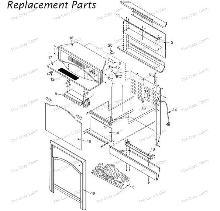 Goodman Air Handler Parts Diagram. Diagram. Wiring Diagram