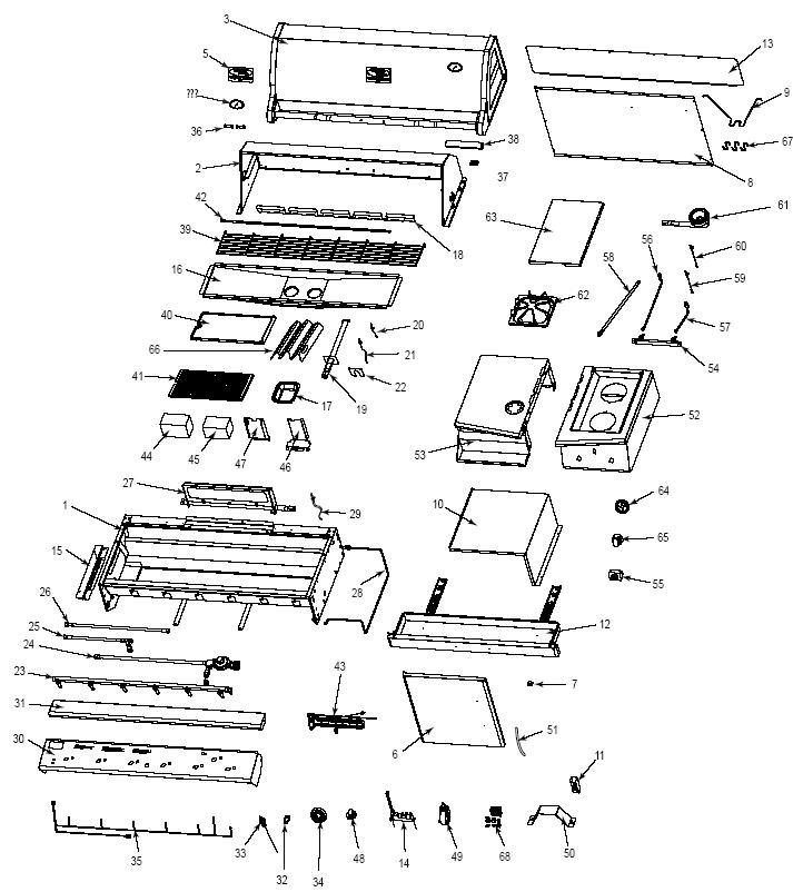Vermont Castings BBQ Grill VCS6005 (VCS6005) The Cozy