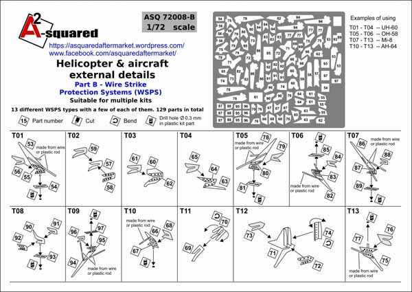 A-Squared Helicopter & Aircraft external details. Part B