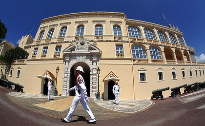 Historic ... the Monaco palace, home of the seven-century old Grimaldi dynasty.