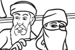September 11 colouring book criticised over Muslims depiction