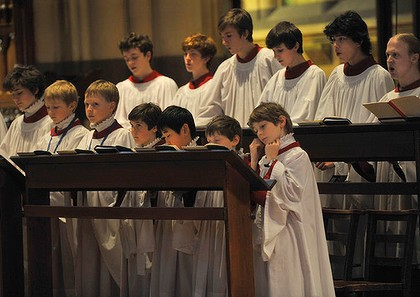 Image result for choir at evensong st denis image