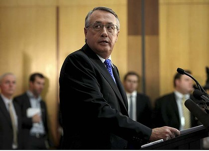 """""""His choice will always be to look after his vested interests"""" ... Treasurer Wayne Swan said, of Tony Abbott."""