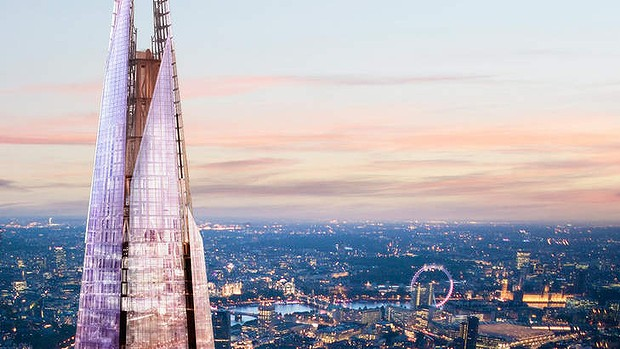 Year's best sights ...  The Shard, London.