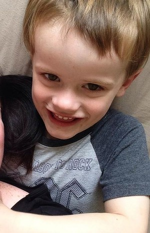 Connor Elliott Graham was missing from his bed when his parents checked on him at 7am.