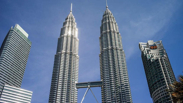 The Petronas Twin Towers in Kuala Lumpur, Malaysia. Malaysia has been named the world's friendliest city for Muslim travellers.