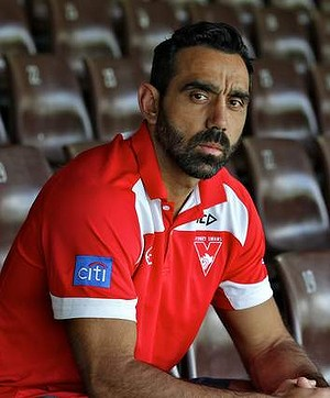 Australian of the Year Adam Goodes.