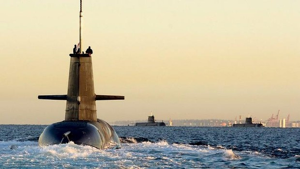 New vision: Defence Minister David Johnston will outline the government's new vision for submarines to replace the ageing Collins Class fleet.