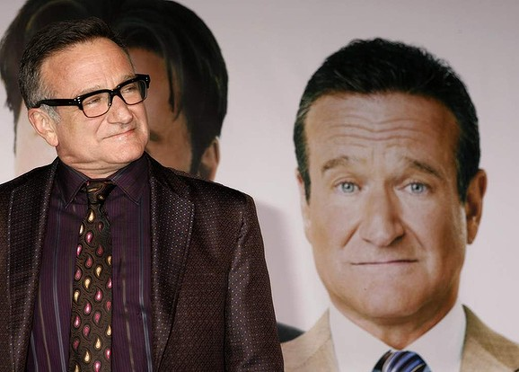 Actor Robin Williams, star of the new film