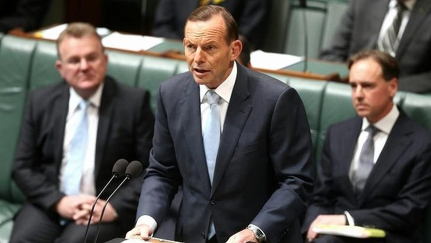 """Labor have accused Tony Abbott of breaking his promise to be a """"no surprises"""" government."""
