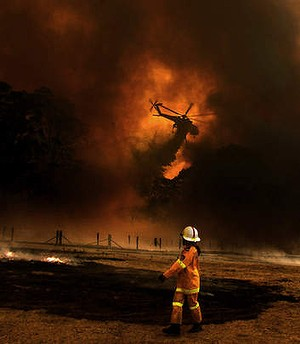 Spy in the sky: The RFS is carrying out trials this fire season.