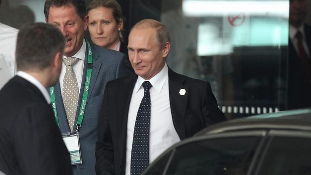 The Russian President said he needed to catch up on sleep before work on Monday.