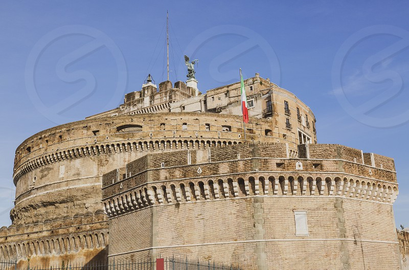 National Museum Of Castel Sant Angelo In Roma City Centre By Claudio Camilli Photo Stock Snapwire