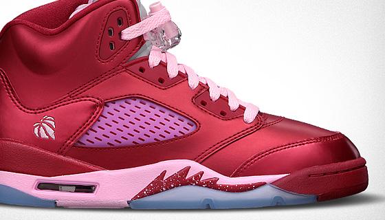 Air Jordan 5 Valentines Day Sortie Ce Soir SNEAKERS