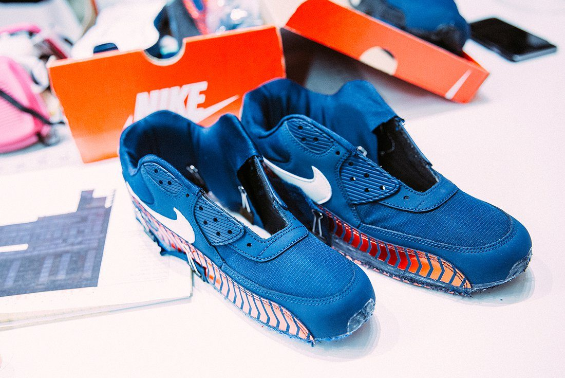 Nike Air Max 90 PSG Custom by Red Ribbon Recon  SNEAKERS ADDICT