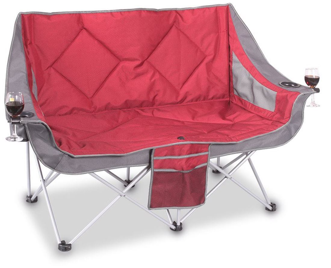 Double Folding Camping Chair Oztrail Galaxy Sofa Camp Chair Snowys Outdoors