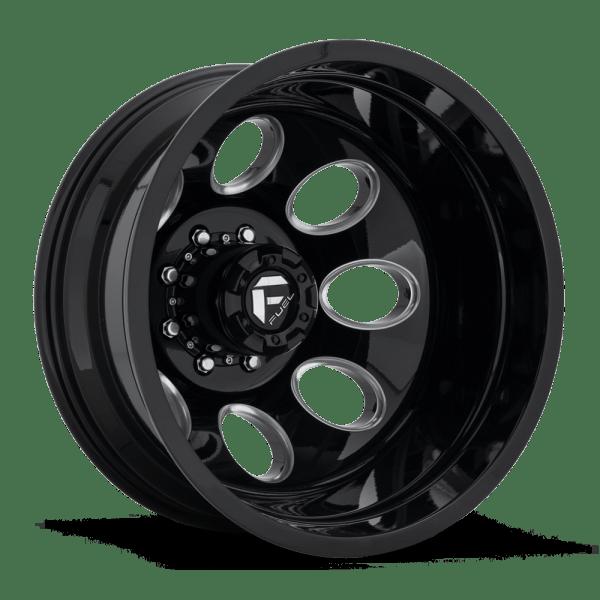 Fuel Dually Wheels Ff31d - 8 Lug Rear Socal