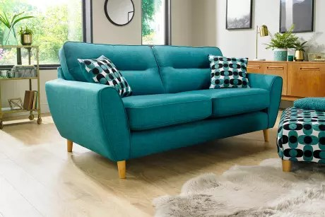 cheap teal sofas lazy boy lancer reclining sofa reviews fabric corner and sofabeds sofology saved