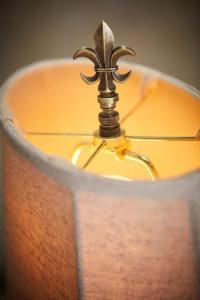 Fleur De Lis Lamp Finial - Lamp Finial | Soft Surroundings
