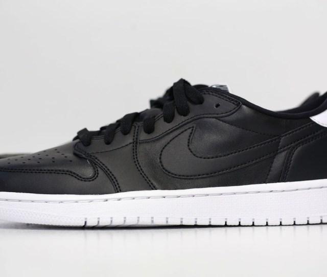 Air Jordan  Retro Low Og Black White