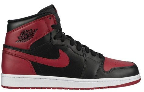 Air Jordan 1 Retro High OG Black Varsity Red White