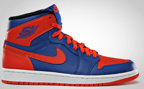 Air Jordan 1 Retro High OG Game Royal Team Orange Game Royal