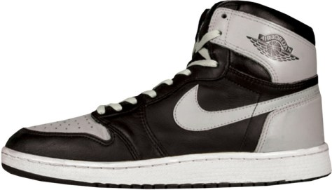 Air Jordan 1 High OG Black Soft Grey