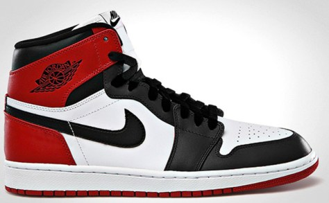 Air Jordan 1 Retro High OG White Black Varsity Red
