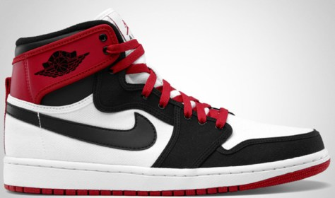 Air Jordan 1 Retro KO High White Black Varsity Red