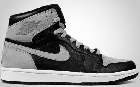 Air Jordan 1 High Retro Black Shadow Grey White