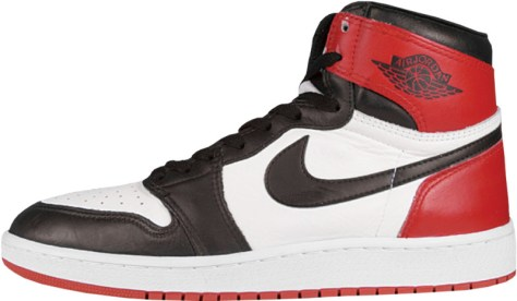 Air Jordan 1 High White Black Red