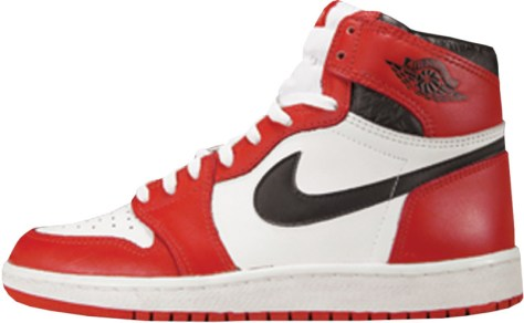 Air Jordan 1 High OG White Black Red